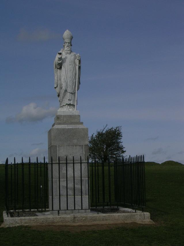 St Patrick S Statue Tara